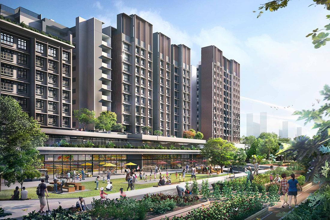 Tengah EC Located at Tengah Garden Walk at Tengah Town
